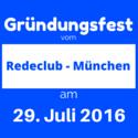 Gründungsfest Redeclub-München