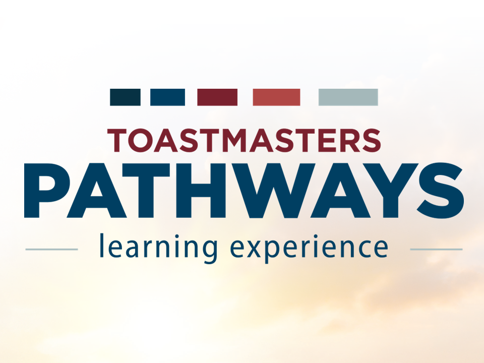 Pathways - Toastmasters International