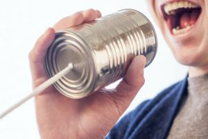 Moderne Kommunikation?