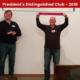 President's Distinguished Club - 2018