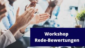 Workshop - Rede-Bewertung @ New European College
