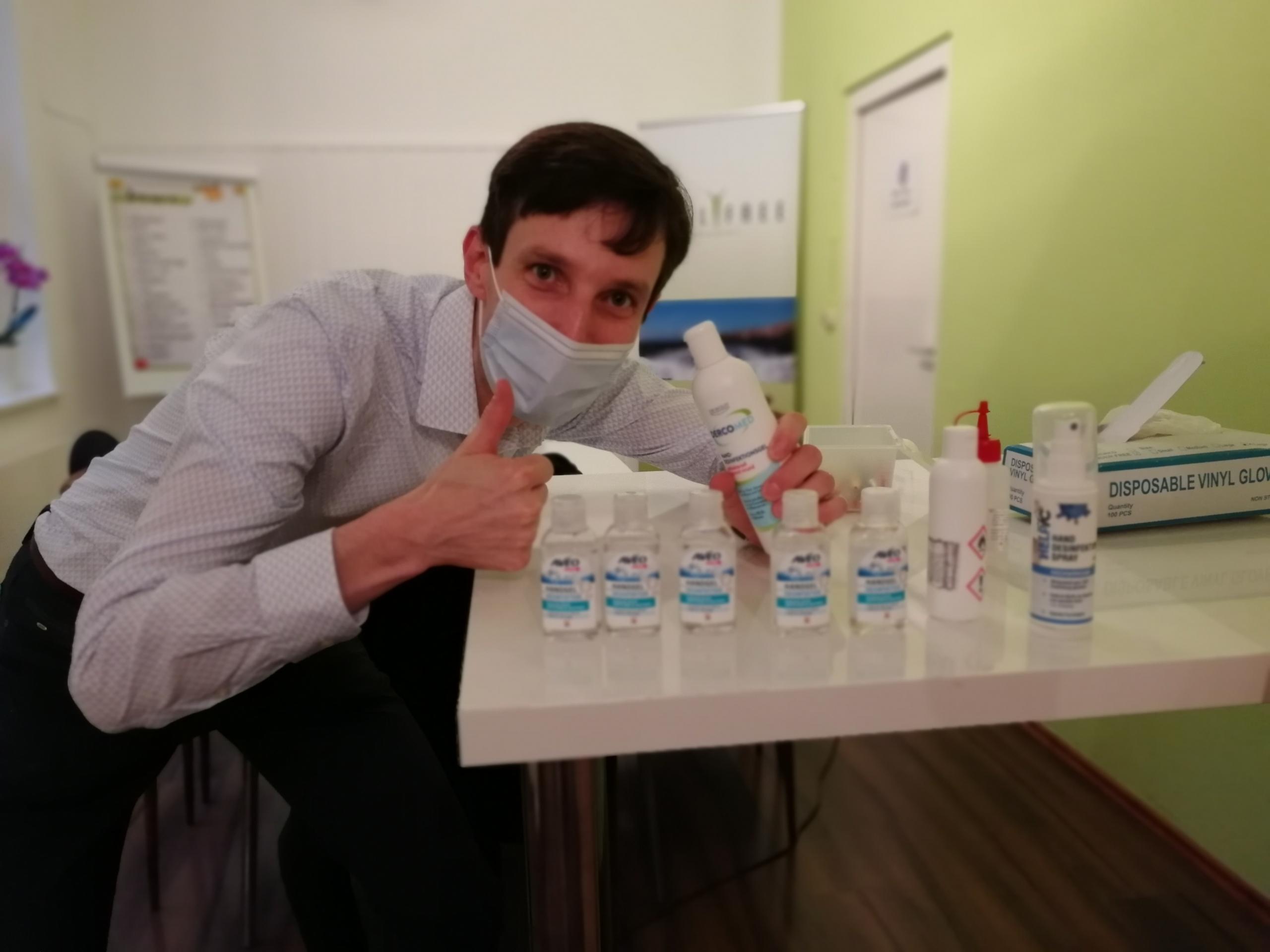 Hygiene-Konzept