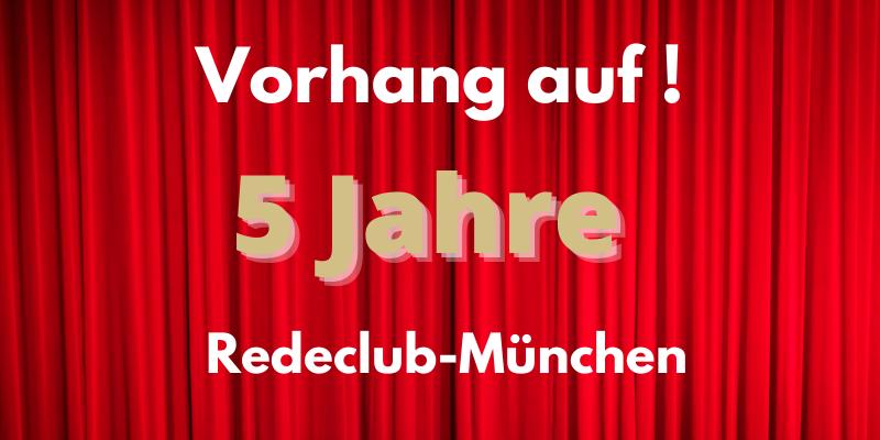 5 Jahre Redeclub-München